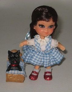 Gorgeous Liddle Kiddles OOAK Wizard of oz Dorthy Toto BA53 | eBay