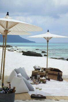 Relaxin'  Beach Picnic - Summer Style