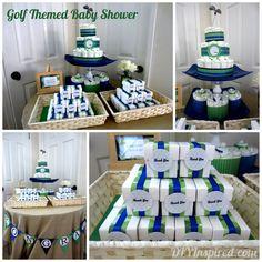 Golf Themed Baby Shower