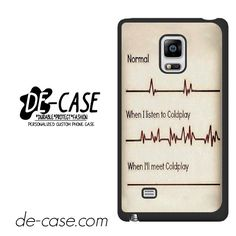 Coldplay Fan DEAL-2767 Samsung Phonecase Cover For Samsung Galaxy Note Edge