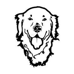 Png Vector Cricut Cut C Labrador Retriever, Labrador Puppies, Stencils For Wood Signs, Cricut, Golden Puppy, Dog Supplies, Pyrography, Dog Art, Vinyl Decals