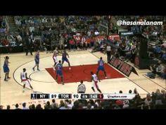 Quincy Acy vs New York Knicks (10.11.2013)