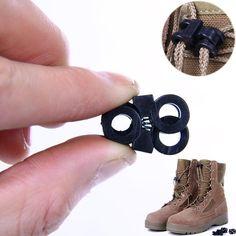 118e6d58532b Camping Travel Kits 10pcs lot Rapid Shoelaces Convenient Antiskid Shoes  Buckle for shoes or backpacks