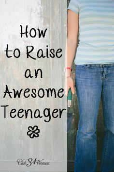 Such an encouraging post! Offering hope that enjoyable teen years are possible. How to Grow an Awesome Teenager
