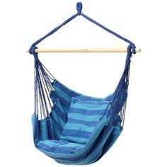 A hammock chair can add a lively hangout spot to a kid's bedroom. | 37 Of The Best Chairs You Can Get On Amazon