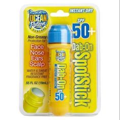Ocean Potion Dab-On Spotstick SPF 60, Multicolor