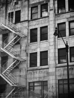 love the fire escape