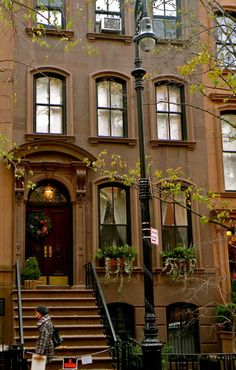 West Village Townhouse, NYC. Just like the house in the film You've Got Mail.