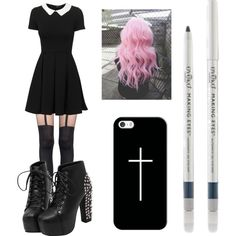 A fashion look from March 2016 featuring Pretty Polly tights and Casetify tech accessories. Browse and shop related looks.