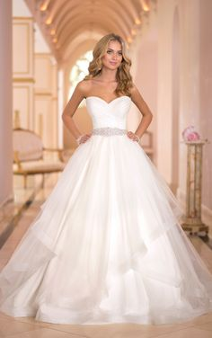 Wonderful Perfect Wedding Dress For The Bride Ideas. Ineffable Perfect Wedding Dress For The Bride Ideas. Princess Wedding Dresses, Dream Wedding Dresses, Bridal Dresses, Wedding Gowns, Tulle Wedding, Wedding Blog, Wedding Ideas, 2017 Wedding, Ivory Wedding