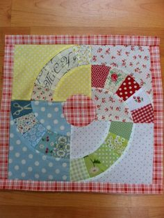 Block #4 by mtclifford2012, via Flickr  The Vintage Block Quilt Along by Charise Creates