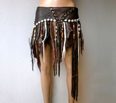 Leather Accent Tag - Tribal Trance by VIDA VIDA va6jp2VVjf