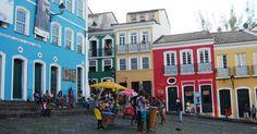 Salvador, Bahia, Brasil - Pelourinho (centro histórico)