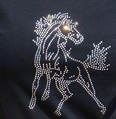 Mustang Rhinestone T-shirt