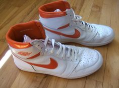 buy popular 33633 3ea86 Air Jordan 1 - OG White Metallic Orange from 1985. They dont make