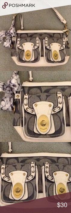 Coach purse Cute denim bag Coach Bags Shoulder Bags