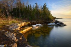 """Little Paradise"" Lake Superior near Christmas, Michigan"
