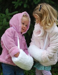 Girls Hand Muff / Child Hand Warmer  in toddler and school girl sizes at littlemuffet.etsy.com $26.50+ Click to see details