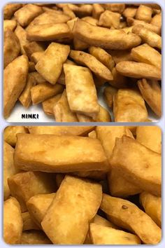 Nimki is ribbon-like strips of pastry delicately seasoned with ajwain, cumin seeds, carom seeds, or caraway seeds and deep fried in pure ghee (clarified butter) or oil. Caraway Seeds, Tea Time Snacks, Clarified Butter, Indian Snacks, Deli, Fries, Vegan Recipes, Ribbon, Tasty