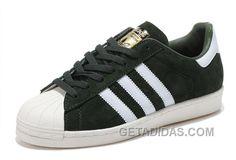 get cheap 978a6 2cb6d Soldes Le Style Unique De Femme Homme Adidas Originals Superstar 80s DLX SU  Cuir Classique Vert Blanche France Lastest ArJRkz, Price   70.00 - Adidas  Shoes ...
