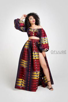 I love traditional african fashion African Fashion trends African Print Skirt, African Print Dresses, African Fashion Dresses, African Attire, African Wear, African Dress, African Inspired Fashion, African Print Fashion, Africa Fashion