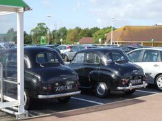 Austin A30 and A35 4 door saloons