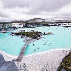 Check out this slideshow Relax in the Thermal Waters of Iceland's Blue Lagoon in this list 13 Must-Do Experiences in Iceland