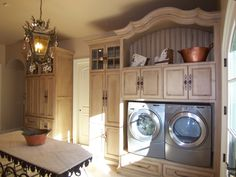French Country Laundry Room