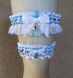 Hey, I found this really awesome Etsy listing at https://www.etsy.com/listing/520377901/cowboy-garter-set-in-light-blue-and