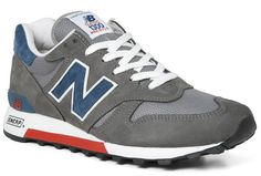 New Balance 1300 Made in USA | Charcoal, Blue & Red