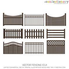 SHCO Confectionery - CU - Vectors - Vector Fencing {CU} Join at http://www.sugarhillco.com/cc