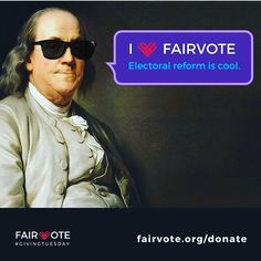 FairVote is trying to implement reforms like Ranked Choice Voting to make our democracy stronger.