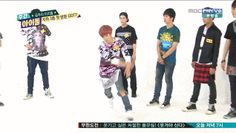 Mark ☆ GOT7 on Weekly Idol (gif)