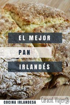 Soda bread, pan irlandés que leuda con bicarbonato. #pan #casero
