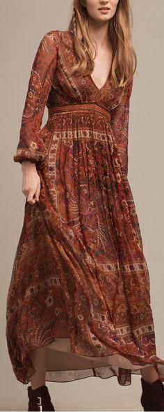 Dress | boho bohemian hippie gypsy style