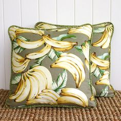 Hey, I found this really awesome Etsy listing at https://www.etsy.com/listing/177645829/tropical-banana-cushion-or-pillow-cover