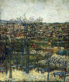 windypoplarsroom:Maurice Utrillo