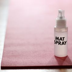 This simple spray recipe uses tea tree and lavender oils, which are a great eco-friendly way to keep your gym equipment germ-free.