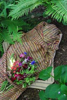 Kinkaraco.com has the most incredibly beautiful burial shrouds! Love their green burial information, too!