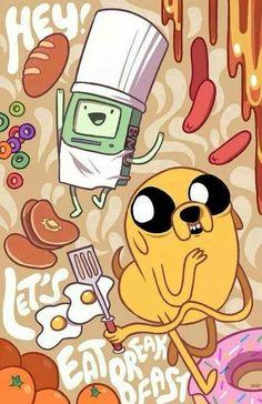~Makin' pancakes, makin', makin' pancakes~