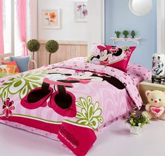 Minnie Mouse Pink Disney Bedding Sets