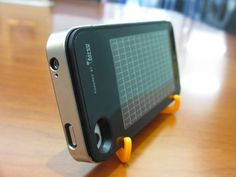 "Solar-Powered Charger for the Apple iPhone - CleanTechnica (""EnerPlex"" from Ascent Solar)"