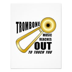 Trombone Reaches Out Custom Invite