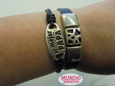 Pulseras  CALADO y http://www.clipmodajoven.es/p614790-pulsera-el-mejor-papa.html