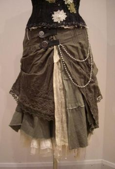 steampunk skirt - Google Search