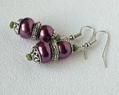 Bella Handmade Beaded Earrings