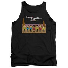 """Checkout our #LicensedGear products FREE SHIPPING + 10% OFF Coupon Code """"Official"""" Star Trek / Tos Trexel Crew - Adult Tank - Star Trek / Tos Trexel Crew - Adult Tank - Price: $29.99. Buy now at https://officiallylicensedgear.com/star-trek-tos-trexel-crew-adult-tank"""