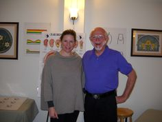 Smiles in front of Ear #Reflexology Chart.  www.AmericanAcademyofReflexology.com Ear Reflexology, Certificate, Conference, Oregon, Seattle, Health Care, Workshop, Polo Ralph Lauren, Chart