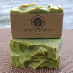 Image result for HANDMADE SEAWEED SOAP