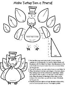 Beau Favorite Sites For Thanksgiving Coloring Pages   Thanksgiving Coloring Pages  From Crayola   Image Courtesy Crayola